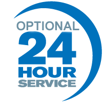 Optional 24 Hour Service
