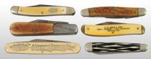 Old Imprinted Logo Knives