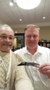 Dave Navoyosky & Vince Deissroth With the $1.99 Camo Knife