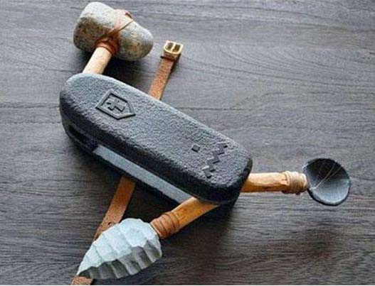 Stone Age Pocket Knife