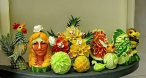 Fruit Carving Masterpieces