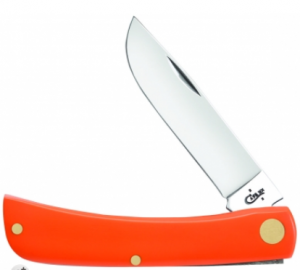 Case® Sodbuster Jr. with Smooth Orange Synthetic Handle