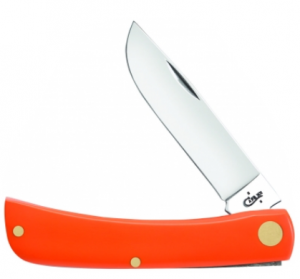 Case Smooth Orange Synthetic Sodbuster Jr.