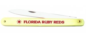 "5-3/4"" ivory plastic handle fruit/vegetable knife 95-112whs"