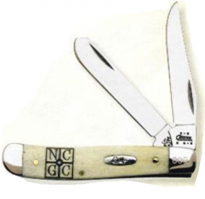 Case Smooth Natural Bone Mini Trapper
